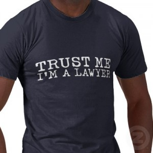 why don't people trust lawyers?